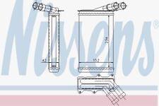 Nissens 71156 Heater Matrix