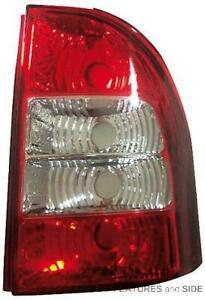 Rear Light Unit Fiat Siena Strada Pick-Up 2007-2012 Left Side