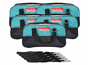 """22"""" Makita Bag 5 Pack. Durable handles and comes with clip on shoulder strap."""
