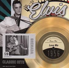 Granada 2013 Mnh Elvis Presley éxitos clásicos me 1v S/s 1956 Love Me