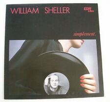 "William SHELLER ""Simplement"" (Vinyl 33t/LP) 1983"