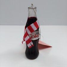 Diet Coke Ornament Bottle w/ Scarf - OFFICIAL PRODUCT