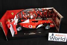 Hot Wheels Ferrari F2003 GA 2003 1:18 #2 Rubens Barrichello Constructors WC