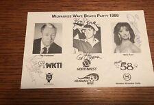 Gilligan'S Island Cast Autographed Promo Gilligan, Professor, Mary Ann