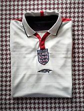 Auténtico Umbro Inglaterra 2003-05 Camiseta de fútbol. XL.