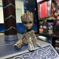 Cute Guardians of the Galaxy Baby Groot Vinyl Qute Figure Figurine Doll Toy Gift