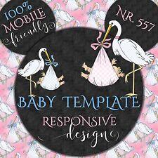 Auktionsvorlage Storch Baby Reborn Responsive Template Mobile Ebay Vorlage | 557