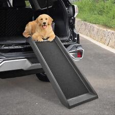 39.7'' Portable Dog Pet Ramp for Car Truck Backseat Pet Ladder Stair Steps