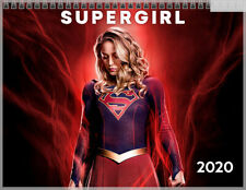 Melissa Benoist Supergirl January December 2020 Photo Wall Calendar