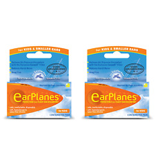 EarPlanes Silicone Earplugs For Kids and Smaller Ears x 2 Pairs
