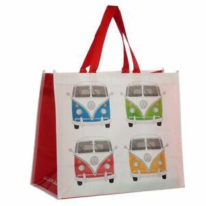 Volkswagen VW T1 Campervan Design Reusable Shopping Bag NEW