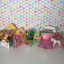 G2 My Little Pony Playsets Bundle Kitchen Bakery Garden River Lake 1997