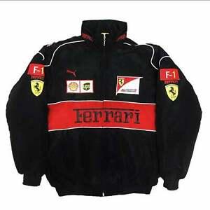Ferrari Formula One Racing Jacket sizes S M L XL