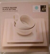 Martha Stewartt Collection 4-PIECE Stoneware Place Setting