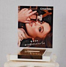 CoCo CHANEL Mademoiselle Perfume Store Countertop Display Model Keira Knightley