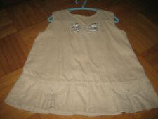 Kleid - Topolino Gr.80 ärmellos mit Eisbären und Taschen beige! TOP!