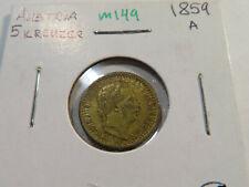 M149 Austria 1859-A 5 Kreuzers