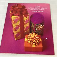 The Hallmark Guide To Beautiful Packages 1969 Paperback Book Booklet Guide