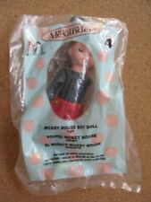 Madame Alexander Mickey Mouse the Boy 2004 McDonalds Happy Meal Toy New in Bag