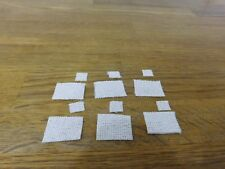 DOLLS HOUSE 1/12  SET 6 TABLE / PLACE MATS AND 6 COASTERS
