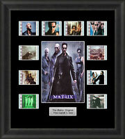 The Matrix Framed 35mm Film Cell Memorabilia Filmcells Movie Cell Presentation