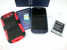 Samsung Galaxy S3 Smartphone 16GB Blue US Cellular SCH-R530 Android Bundle