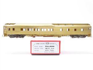 HO Scale Unbranded BRASS Unpainted G Series Pullman Coach Passenger Car