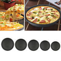 Professional Nonstick Round Pizza Baking Pan Deep Dish Bakeware Kitchen Tool