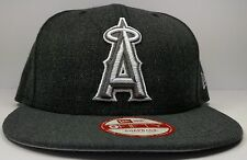 Los Angeles Anaheim Angels New Era 9Fifty Charcoal Action Snapback Hat Cap MLB