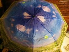 The Nature Conservancy Umbrella Blue, Green & White Sunny Day In Nature Theme