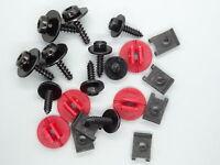Stoßstangen Befestigungs Clips Schrauben Reparatur Set für Ford Mondeo