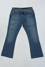CK CALVIN KLEIN JEANS BLUE FADED DENIM JEANS BOOTCUT W31 UK14 Low waist LOOK