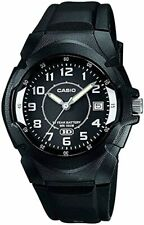 CASIO Men's MW-600 Sport Watch with Black Resin Band