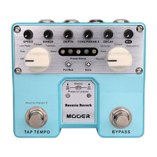 Mooer Audio Twin Series Reverie Reverb Guitar or Bass Effect Pedal - Brand New!