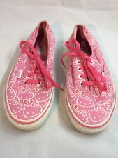 Vans Hello Kitty Print Pink Sneaker Shoes Mens Size 6 / Womens Size 7.5