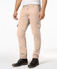 NEW MENS AMERICAN RAG SLIM FIT STRETCH KHAKI CARGO PANTS 32 x 32