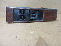 CADILLAC ELDORADO 92-95 POWER WINDOW POWER MIRROR SWITCH + WOOD BEZEL DRIVER LH