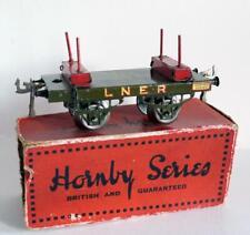 HORNBY O GAUGE( NO 1) LUMBER WAGON (LNER) BOXED)