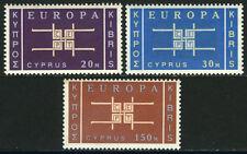 Cyprus 229-231, MNH. EUROPA CEPT. Stylized Links, Symbolizing Unity, 1963