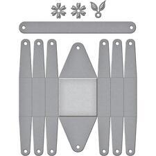 Spellbinders Designer Series Die ~ FLORAL PICNIC BASKET ~ S6-108