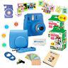 Fujifilm Instax Mini 9 Instant Camera + 40  Fuji Film SHEETS + Accessory Bundle!