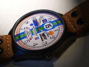 Le Mans Winners Commemorative Wrist Watch 1972 Graham Hill,  Matra Simca.