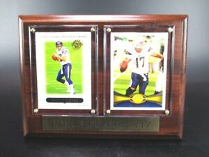 Philip Rivers San Diego Chargers Wood Wall Picture 7 7/8in, Plaque NFL Football