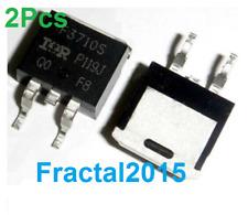2x IRF3710S Transistor N-MOSFET IRF3710STRLPBF IRF3710STR IRF3710S - LSGDZ