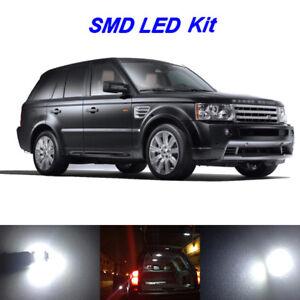 16 x White LED Interior Light Bulbs Package For 2006-2013 Range Rover Sport L320