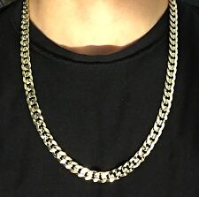 Gold Chain 14k Gold Cuban Link 24in 10mm