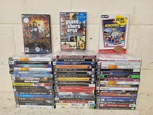 55 x New Sealed PC Games Job Lot- GTA Lego Sega Dreamcast Mega Drive Disney LOTR