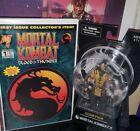 Mezco Toyz lot Mortal Kombat 1 comic book Scorpion New rare nm Xbox ps4 games