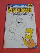 Bart Simpson Numero Uno #31 - with Poster .! - OTTER Press