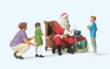 Preiser 44931 Babbo Natale in Poltrona,Mamma con Bambini per LGB ,1: 22,5,Nuovo